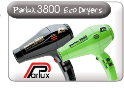 Parlux 3800 Eco Friendly dryers